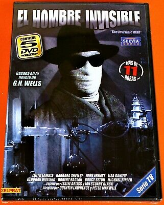 EL HOMBRE INVISIBLE / The Invisible Man - 5dvd - Serie completa - Precintada