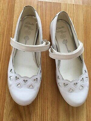 Clarks Magic Steps Shoes Size 7f Mary Flats Wedding Girl