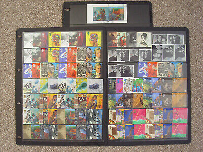 "LOT#360L - GB QEII 1999 ""MILLENNIUM SERIES"" (Multiple Listing) STAMP SETS USED"