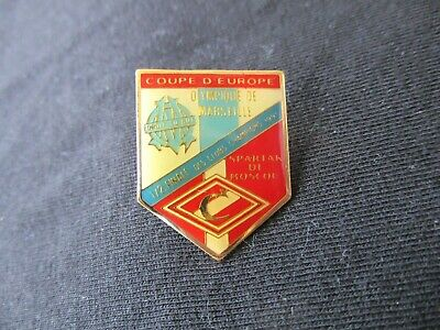 Pins Pin's Om Marseille Spartak Moscou 1991 1/2 Finale C1 Coupe D Europe