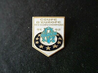 Pins Pin's Om Marseille C1 Coupe D Europe Des Clubs Champions 1991-1992