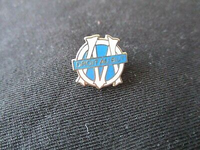 Pins Pin's Om Marseille Droit Au But Ancien Football Supporters
