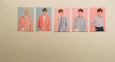 SEVENTEEN in Carat Land 2019 SVT 3rd Fanmeeting Trading Cards