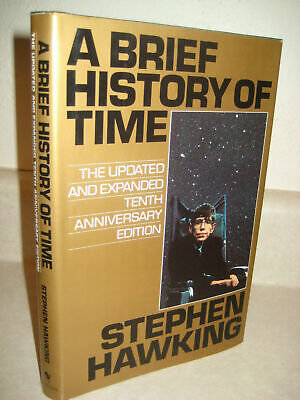 A Brief History of Time by Stephen Hawking Expanded 10th Anniversary Edition