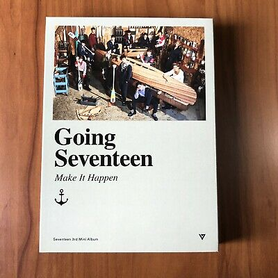 Seventeen 3rd Mini Album Going Seventeen Make It Happen Version No Photocard
