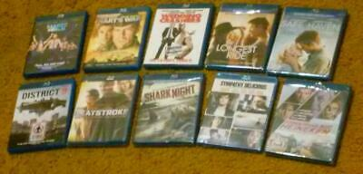 Wholesale Lot of 10 Popular Blu-ray Disc Movies - Brand-New & Sealed