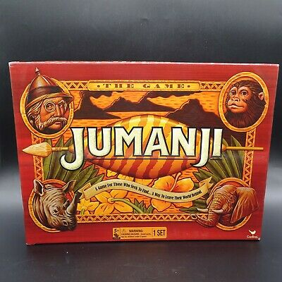 Jumanji Board Game by Cardinal Unused Open Box