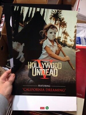 Hollywood Undead V PROMO POSTER 11x17 NEW