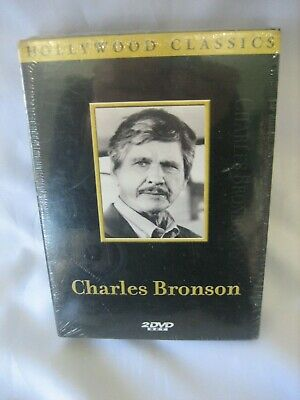 Charles Bronson Hollywood Classics 2 Dvd Set New Sealed