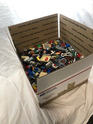 Bulk LEGO 9 10 pounds of legos Bulk lot Bricks parts pieces 99% LEGO Star Wars