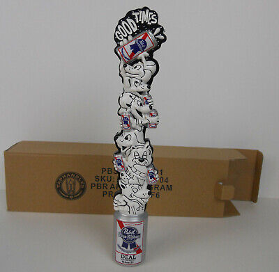 PBR PABST BLUE RIBBON GOOD TIMES art series beer tap handle. EVERYWHERE USA