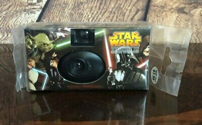 Star Wars Episode III Revenge of the Sith SEALED  One-Time Use Camera