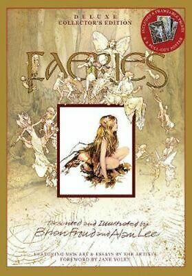 NEW Faeries : Deluxe Collector's Edition By Brian Froud Hardcover Free Shipping