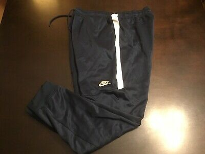 ede51a4ccdae36 NIKE TRIBUTE JOGGERS Pants White/Black Men's Size Large 861652-100 ...