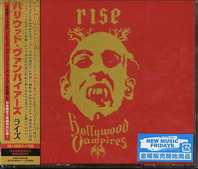 HOLLYWOOD VAMPIRES-RISE-JAPAN 3 CD Ltd/Ed M07