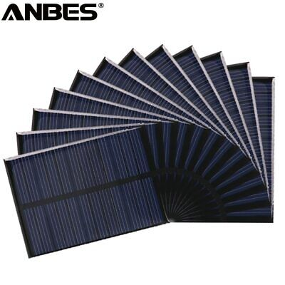 ANBES Solar Panel 5V 6V 12V Mini Solar System DIY For Battery Cell Phone Charger