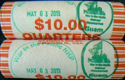 2019 D QUARTER ROLL WAR IN THE PACIFIC NATIONAL HISTORICAL PARK GUAM Plus Extras