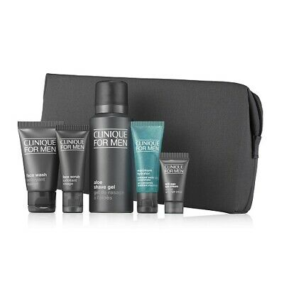 Clinique For Men 6 Piece Travel Gift Set Brand New