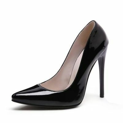 Women 12Cm High Heel Classic Stiletto Pumps Party Poin00000000Ted Shoes