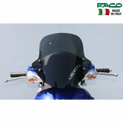 FACO 21221 WINDSCREEN WITH BRACKETS FOR PIAGGIO FREE BASE 50 1995 2002
