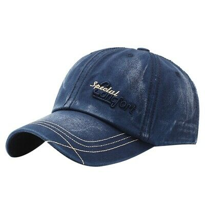 Unisex Mens Womens Out Faded Ripped Baseball Cap Casual Hats With Adjustable