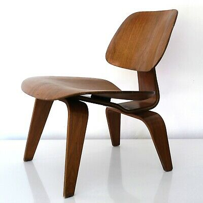EAMES LOUNGE CHAIR WOOD Herman Miller 1955 vitra plywood LCW