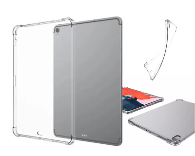 Soft Ultra Thin Slim CLEAR TPU Bumper Case Cover iPad 6th Gen 2018 A1893 A1954