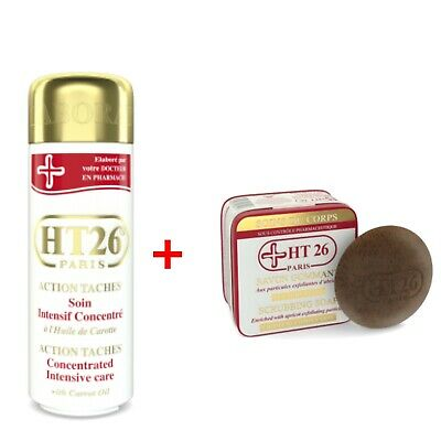 HT26 Paris Action Taches Intensive Care With Carrot + Scrubbing Soap