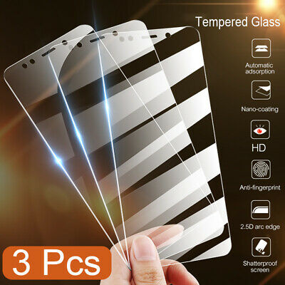 3pcs 9H Real Tempered Glass Screen Protector HD Premium Full Cover For Xiaomi