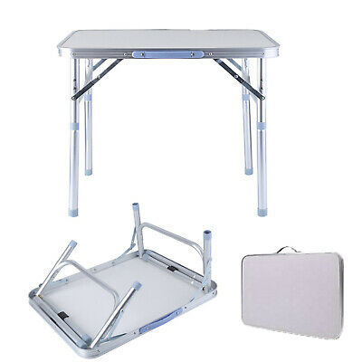 2FT Heavy Duty Small Folding Table Portable Camping Picnic Garden Party Laptop F
