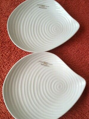Sophie Conran for Portmeirion Shell Shapped Plate, White, Brand New