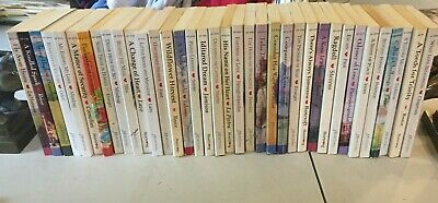 Lot of 36 Vintage Harlequin Paperbacks, Heartsong
