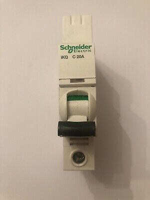 Schneider IKQ A9F57120 - 20amp Type C Single Pole MCB SE10C120