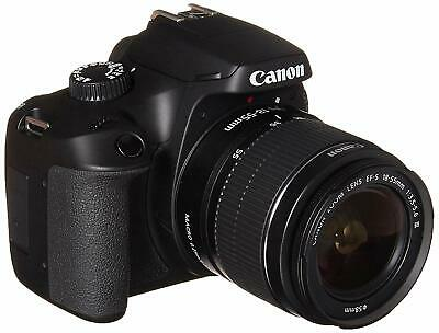 Canon EOS 4000D DSLR Camera EF-S 18-55 mm f/3.5-5.6 III Lens - International