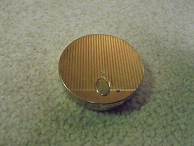 Vintage Coty Round Gold Compact