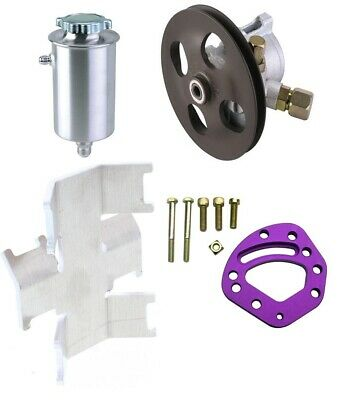 Power Steering Pump / Reservoir Tank / Tank Mount / Head Mount Combo