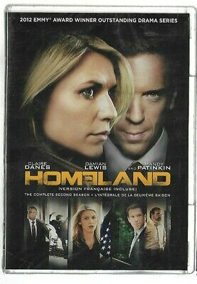 Sealed New DVD - TV Series - HOMELAND - Season 2 - Also In French