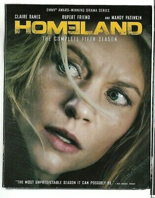 Sealed New - BLU-RAY DISC  - TV Series - HOMELAND - Season 5