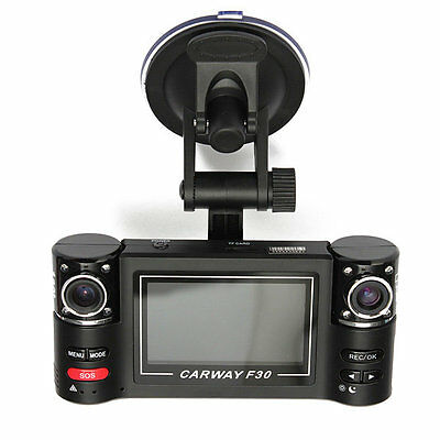 Camera for Car F30 Con 2 Cameras a 360° Carway.Ee nigh Vision Driving Recor