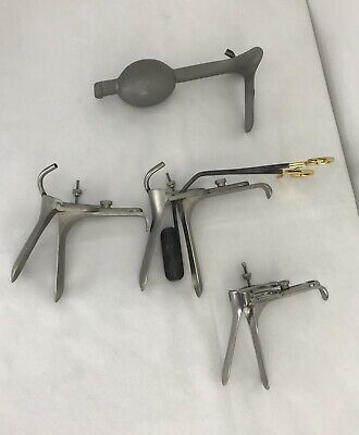 Gynecology Package 3 Pederson 1 Weighted Vaginal Speculum W 1 Lateral Retractor