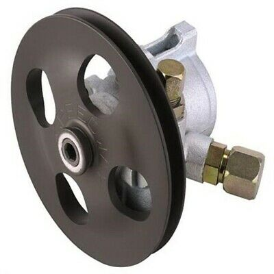 Power Steering Pump for SBC Short Water Pump with V-Belt Pulley