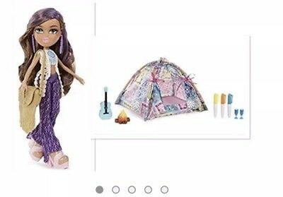 Bratz Music Festival Vibes Yasmin And Tent Playset Doll Gift Set Discontinued