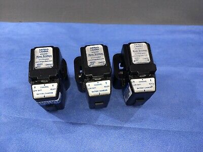 Lot Of 3 King Systems Airtraq Camera for Optical Laryngoscope ATQ-032