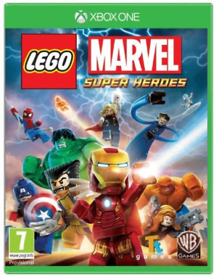 Xbox One Reorderable-Lego Marvel Superheroes Xbo (UK IMPORT) GAME NEW