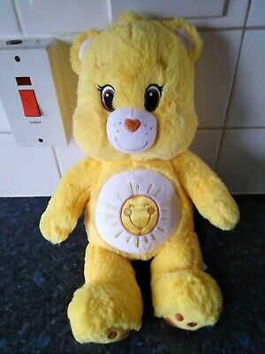 "Build a Bear Workshop Care Bear Funshine Yellow 17"" Plush Soft Toy"