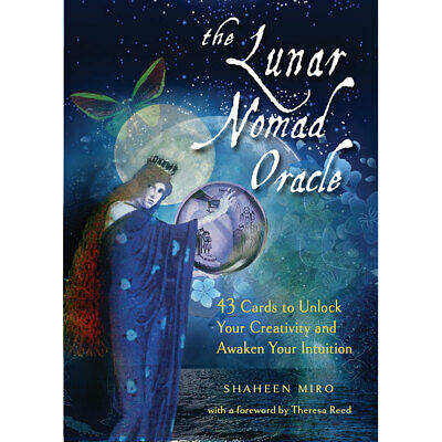 NEW Lunar Nomad Oracle Deck and Book Set by Shaheen Miro (2019) Lenormand Cards