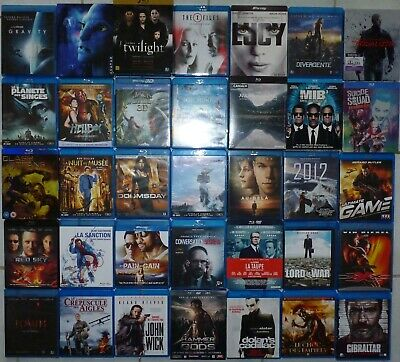 Lot 147 Blu Ray Science-Fiction Fantastique Action Thriller