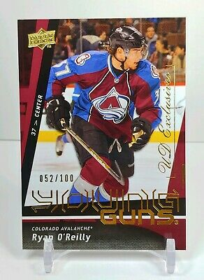 09/10 Ud Young Guns Exclusives Rookie Ryan Oreilly St.louis Blues Mvp /100 Sp