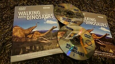 Walking With Dinosaurs (DVD, 2000) 2 Disc Set, BBC