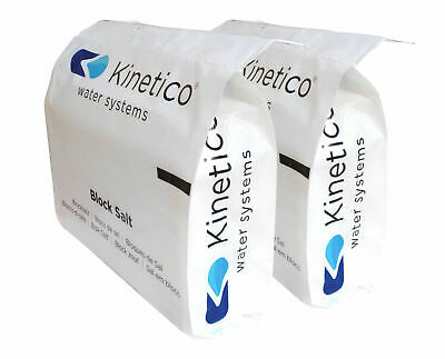 Block Salt Water Softener KINETICO Twintec 100% PURE BRITISH SALT 48hrs delivery
